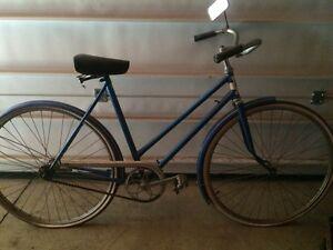 "Vintage ""Rapido"" coaster bike."