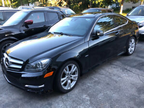 MERCEDES-BENZ C350 Coupe, 4 MATIC, 2012