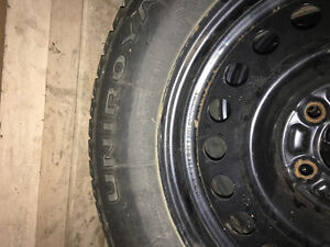 1 year old winter tires and rims London Ontario image 2