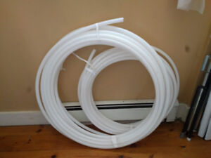 HDPE tubing for building hula hoops.