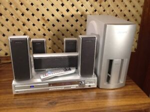 Sanyo JCX-TS730 5.1 Home Theater System