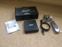 M8s Android TV box quad core 4K HD kodi fully loaded 5G BRAND NEW