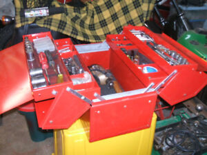Cantilever Tool box with Tools