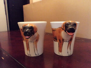 Two Brand New Boxer Mugs