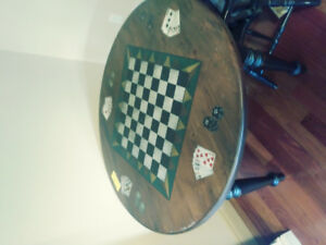 Gaming Poker Card Table and Chairs