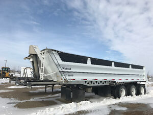 2015 Midland Tri axle end dump