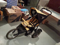 Running Stroller with Brakes and Front or Rear Facing Seat