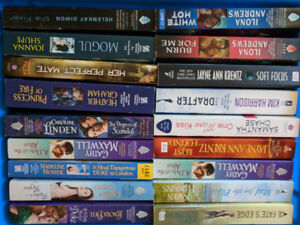 Box of  Romance Books - all 25 for  only $15!
