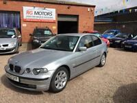 2003 BMW 318 2.0 ti SE Compact Silver 3dr Coupe, **ANY PX WELCOME**