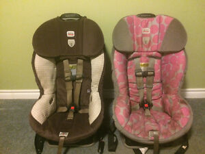 Britax Boulevard clicktight car seats