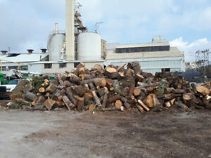 UNSPLIT FIREWOOD FOR FREE!