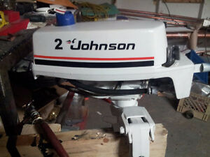 2 HP Evinrude or Johnson Outboard