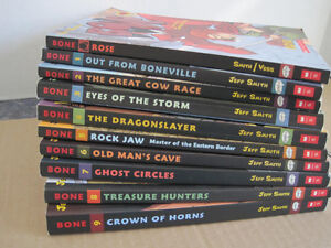 Bone Graphic Novel Complete Collection (Books 1-9): Books 1-9