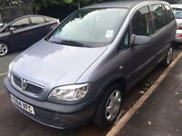 VAUXHALL ZAFIRA LIFE 1.6 7-SEATER GREY MOTD STARTS AND DRIVES EXCELLENT