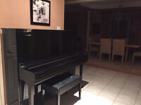 Piano teacher for beginner and intermediate students- $15/30min!