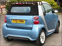 2013 (63) Smart ForTwo 0.8cdi ( 54bhp ) Softouch Passion Convertible