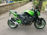 2010(10) Kawasaki ZR750 L9F / Z750 - Naked - Candy Lime Green - 14061 miles