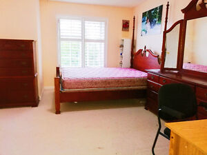 Furnished Master bedroom on Hwy7/ Warden Immediately
