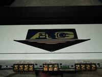 Zapco AG 360 4 channel amp