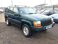 1996/P Jeep Grand Cherokee 4.0 auto Limited FULL MOT EXCELLENT RUNNER