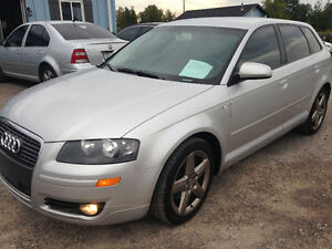 2006 AUDI A3 WAGON 6SPD MANUAL GAS CERT. $6300