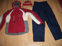 "Skisuit / Snow suit """" MISTY MOUNTAIN """" - like NEW -- size M"
