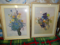 Vintage Ian Woodner Water Color Prints.  Offers.