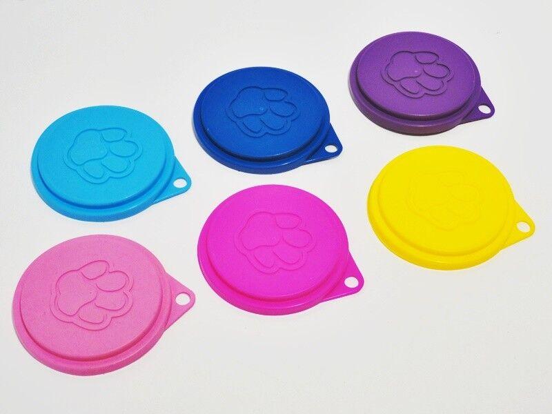 Dosendeckel für Hundefutter / Katzenfutter - Kunststoff - mehrere Farben - 75mm