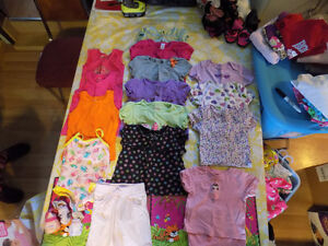Girls Summer Clothing Lot - 12 - 24 mo