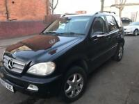 2003 MERCEDES-BENZ ML270 2.7 CDI AUTO INSPIRATION EDITION TIDY FULL MOT PX SWAPS