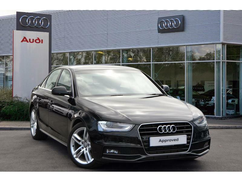 2014 audi a4 a4 diesel saloon 2 0 tdi 150 s line 4dr multi diesel black automati in plymouth. Black Bedroom Furniture Sets. Home Design Ideas