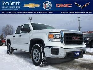 2014 GMC Sierra 1500 4WD CREW CAB 153.   - Certified - CRUISE -