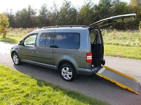 2013 Volkswagen Caddy Maxi Life C20 1.6 TDI Only 17k WHEELCHAIR ACCESSIBLE WAV