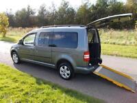 2013 Volkswagen Caddy Maxi Life C20 1.6 TDI Only 17k WHEELCHAIR ACCESSIBLE WAV