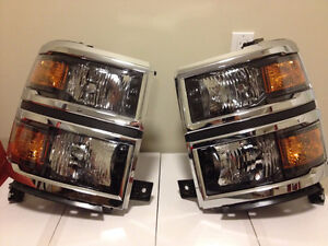 '14 Silverado Headlights