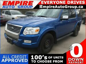 2010 FORD EXPLORER XLT * 4WD * $0 DOWN FOR ALL CREDIT