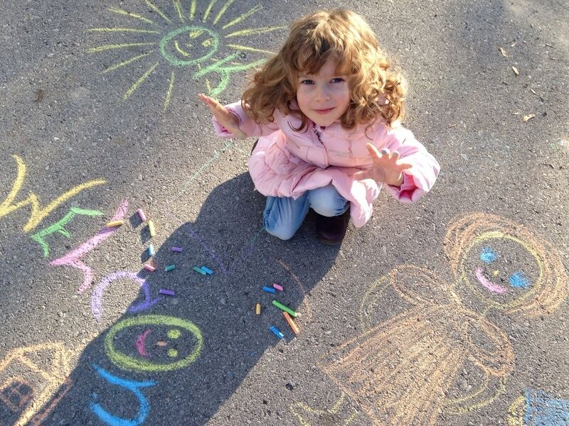 Top 3 Fun Projects for Kids to Do with Chalk