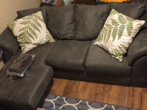 Selling couch with chaise