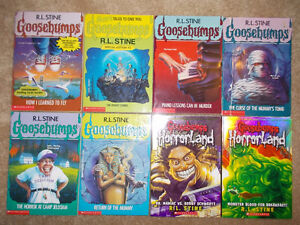 Goosebumps and Horrorland - 8 books in total