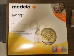 Medela swing pump motor and new accessories