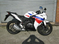Honda CBR125 R-D 2014 14 reg 2 owners superb bike