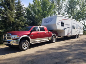 2011 dodge ram 3500 and 2010 crossroads cruiser fifth wheel