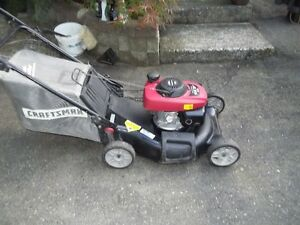 honda powered self propelled craftsman mower