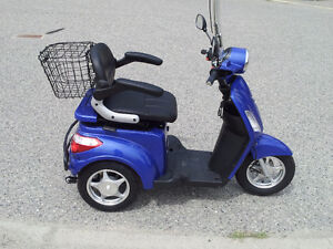 Sporty 3 wheel Electric Scooter