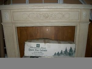 Fireplace Mantle & Surround - Painted Wood