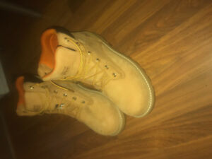 Men's size 10 timberlands worth $300 with tags