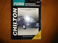 1995-2003 Ford Windstar Service Manual