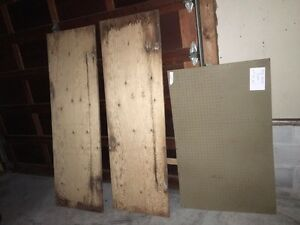 """2 Pieces 3/4"""" Plywood &2' Piece Pegboard/Different Projects"""