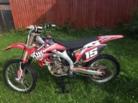 Honda Crf 450 motocross bike !! must see !! Not kx kxf cr ktm rm rmz