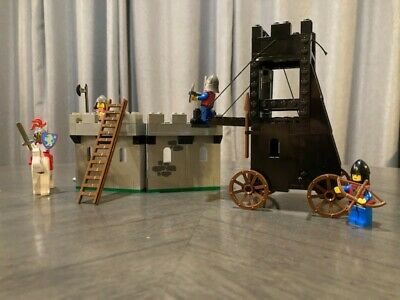 Vintage Lego 6061 Legoland Castle System Siege Tower COMPLETE w/ Box and Manual